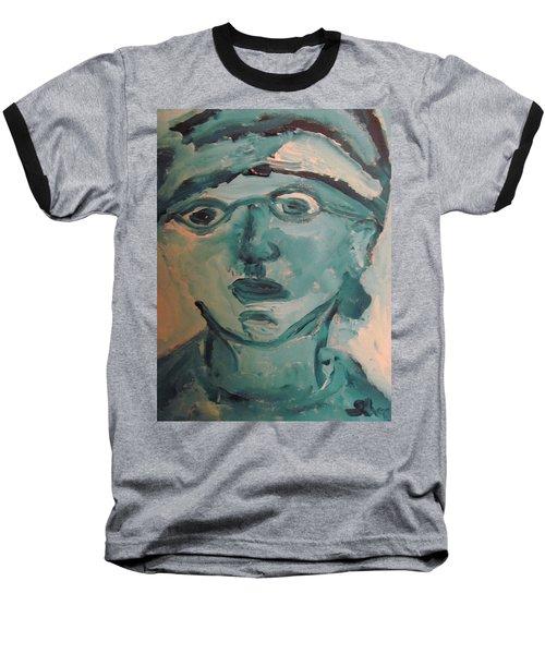 Portrait Of A Man Baseball T-Shirt