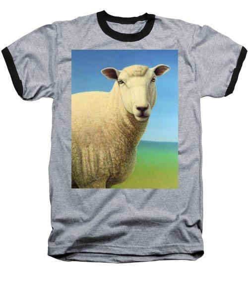 Portrait Of A Sheep Baseball T-Shirt