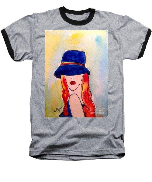 Portrait Of A Woman Baseball T-Shirt