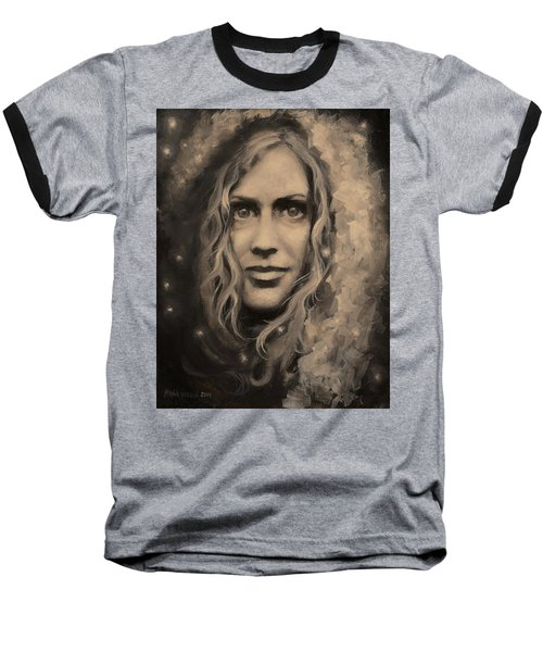 Portrait Of Annie Baseball T-Shirt