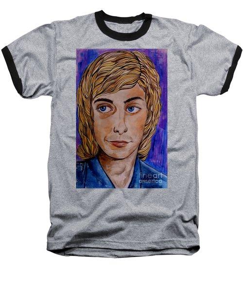 Portrait Of Barry 2 Baseball T-Shirt