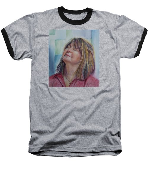 Portrait Of Peg Baseball T-Shirt