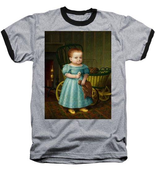 Portrait Of Sally Puffer Sanderson Baseball T-Shirt