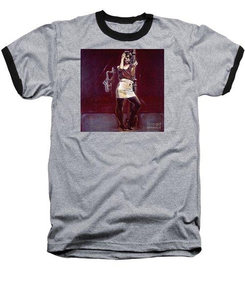 Portrait Of Two Street Hustlers  Baseball T-Shirt
