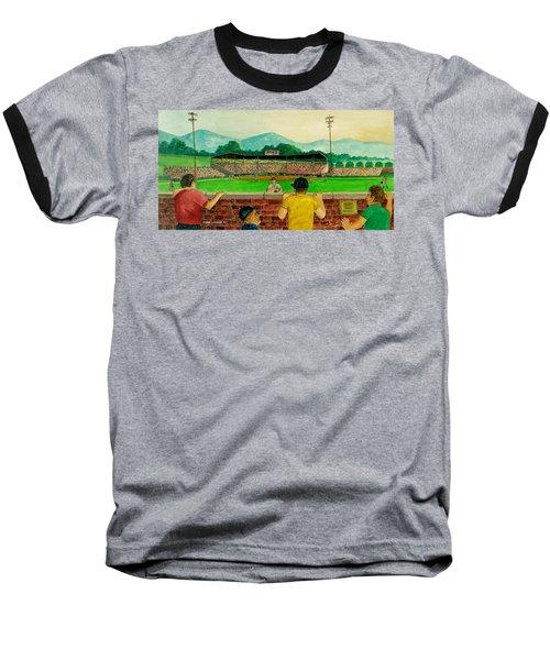 Portsmouth Athletics Vs Muncie Reds 1948 Baseball T-Shirt by Frank Hunter