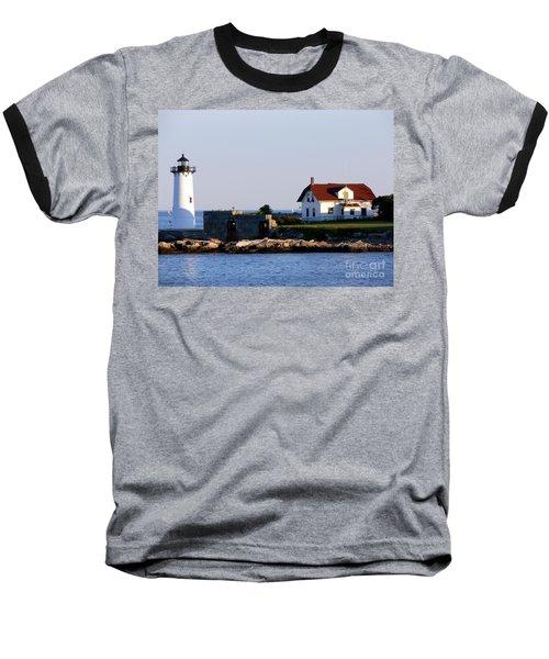 Portsmouth Harbor Light Baseball T-Shirt
