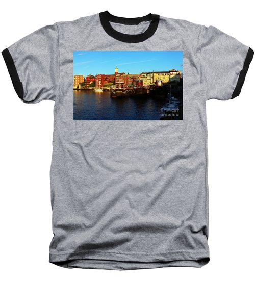 Portsmouth In The Afternoon Baseball T-Shirt