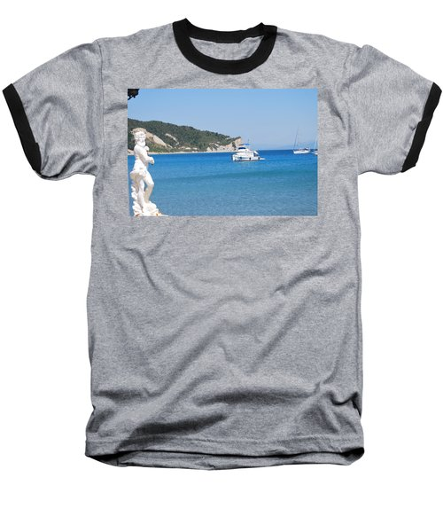 Poseidon 3 Baseball T-Shirt by George Katechis