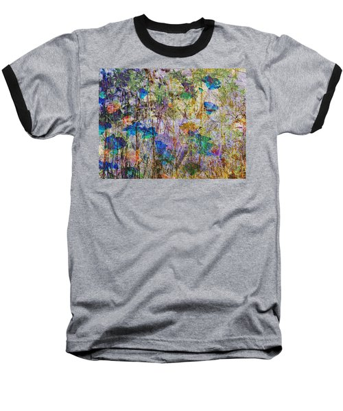 Posies In The Grass Baseball T-Shirt