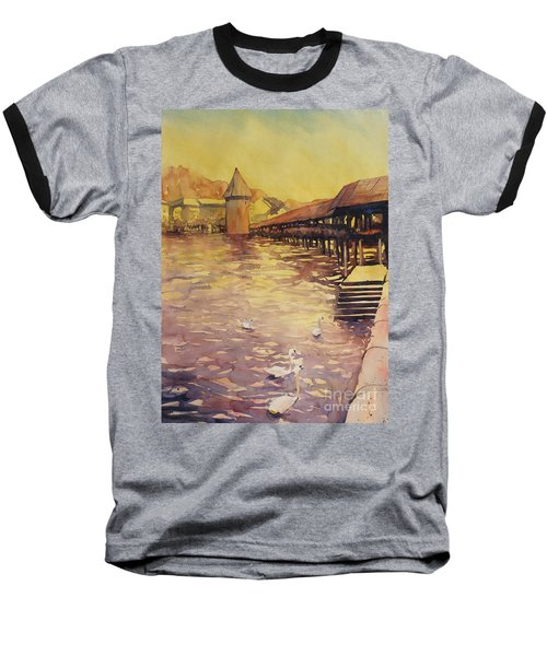 Posing For Tourists Baseball T-Shirt