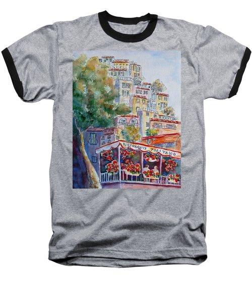 Positano Restaurant Baseball T-Shirt