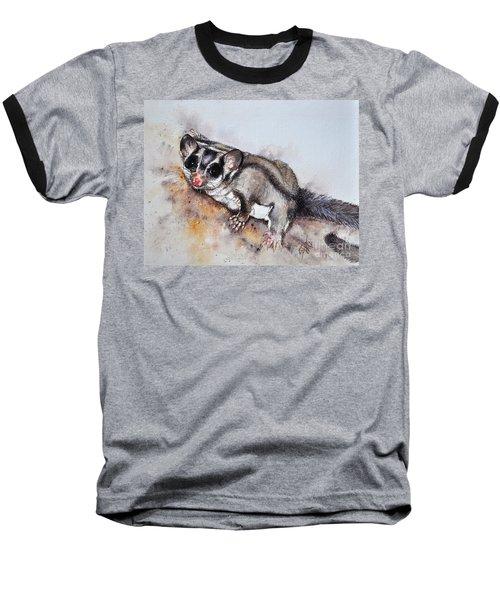 Possum Cute Sugar Glider Baseball T-Shirt