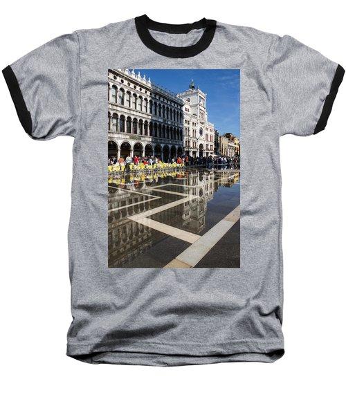 Baseball T-Shirt featuring the photograph Postcard From Venice by Georgia Mizuleva