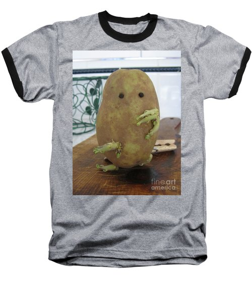 Potato Man Baseball T-Shirt