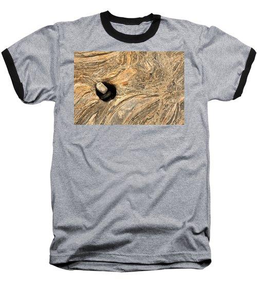 Pothole And Stone Pemaquid Point Maine Baseball T-Shirt