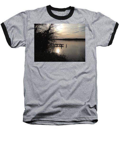 Baseball T-Shirt featuring the photograph Potomac Reflective by Charles Kraus