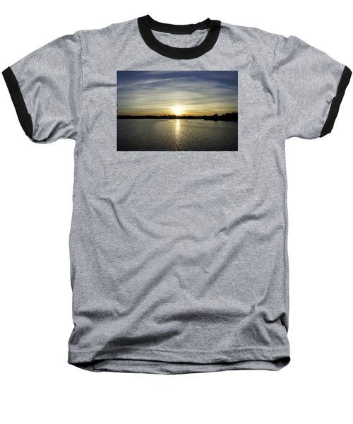 Potomac Sunset Baseball T-Shirt