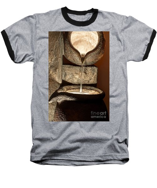 Pouring Out Water Art Prints Baseball T-Shirt by Valerie Garner