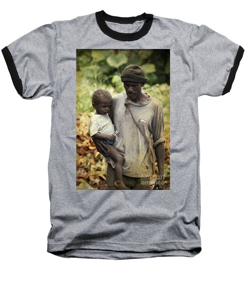 Poverty Baseball T-Shirt