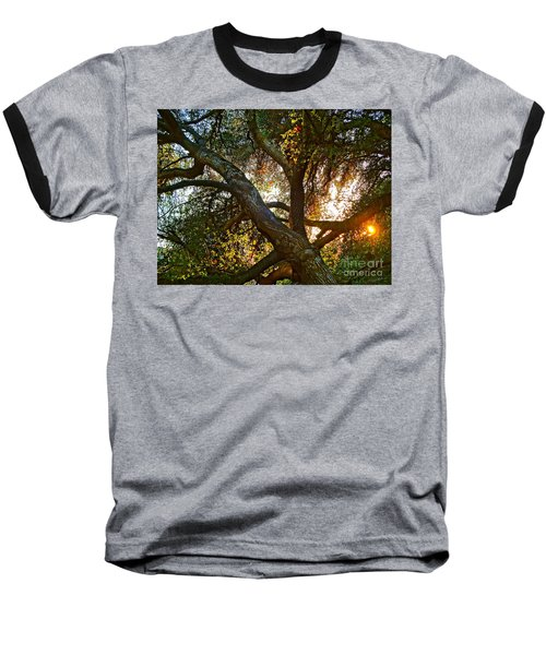 Power Entwined Baseball T-Shirt by Gem S Visionary