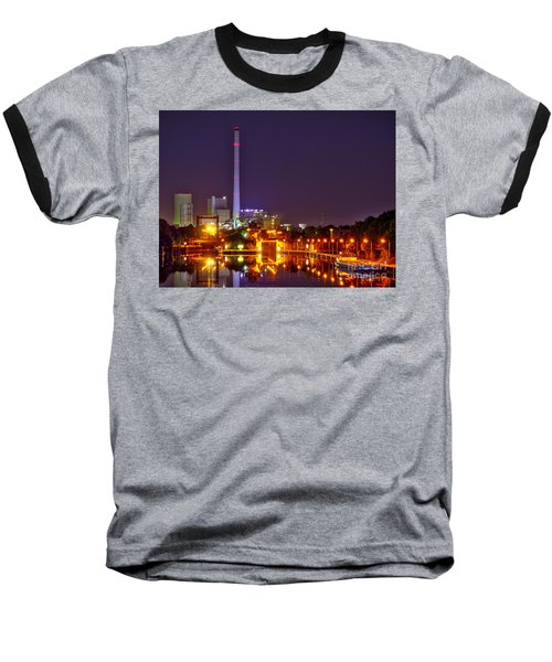 Powerhouse In A Sea Of Lights Baseball T-Shirt