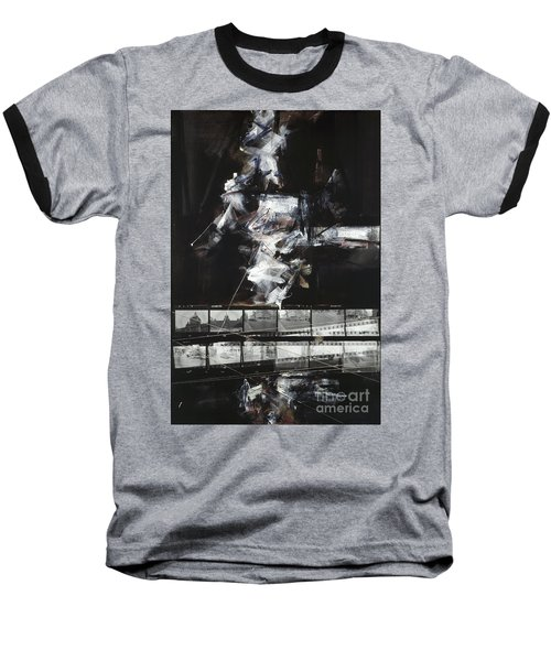 Prague Souvenir IIi Baseball T-Shirt