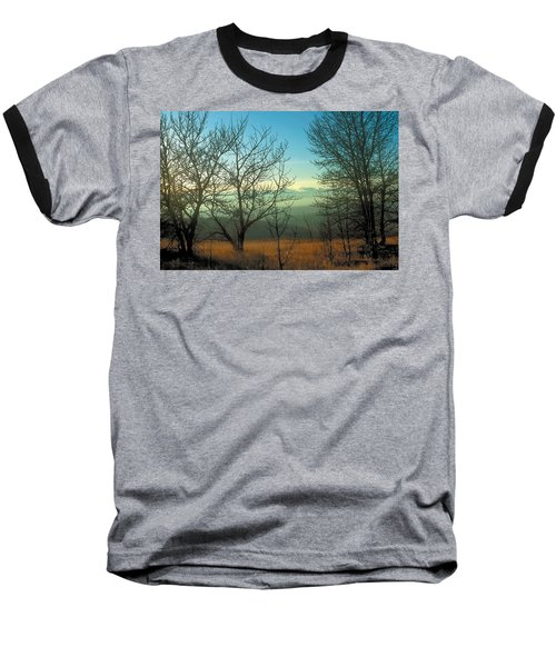 Prairie Autumn 2 Baseball T-Shirt