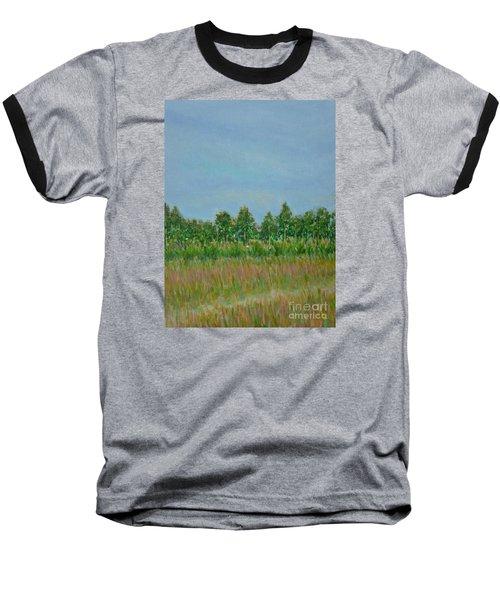 Prairie Morning Light Baseball T-Shirt