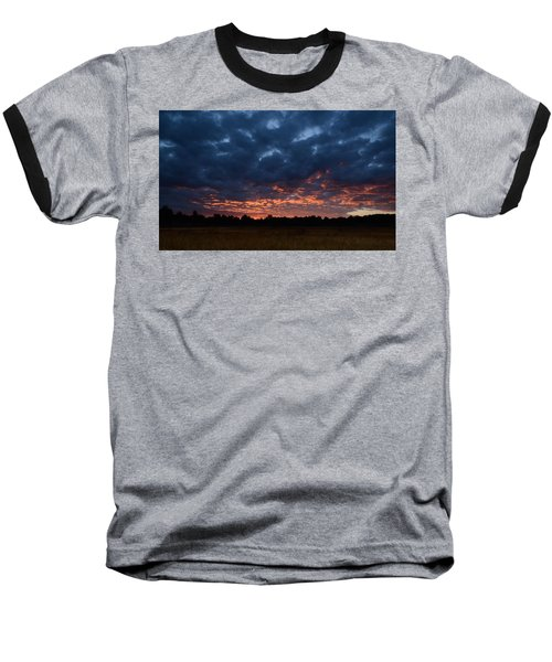 Prairie Sunrise Baseball T-Shirt