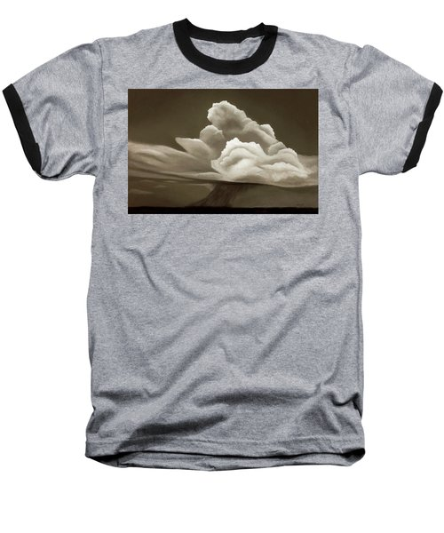 Prairy Storm IIi Baseball T-Shirt by Garry McMichael