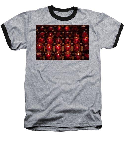 Prayer Candles Baseball T-Shirt
