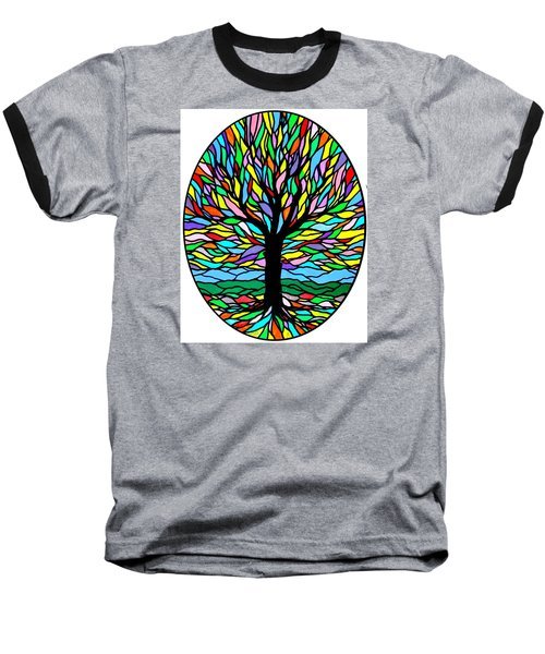 Prayer Tree Baseball T-Shirt