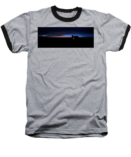 Pre Dawn Light Panorama At Quoddy Baseball T-Shirt