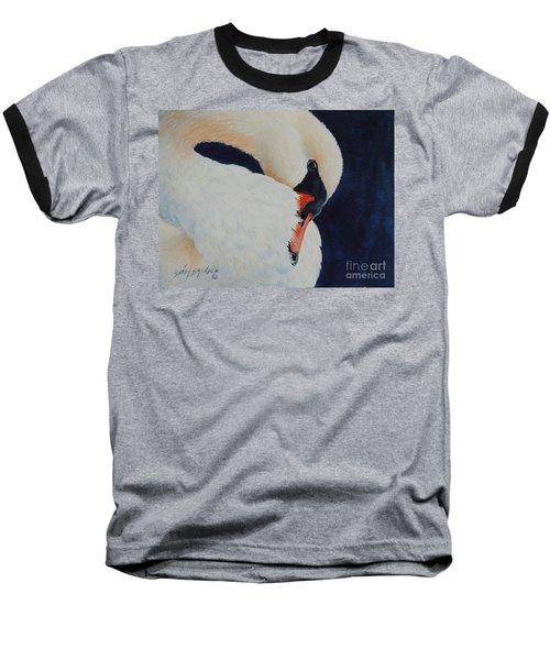 Preening. Sold  Baseball T-Shirt