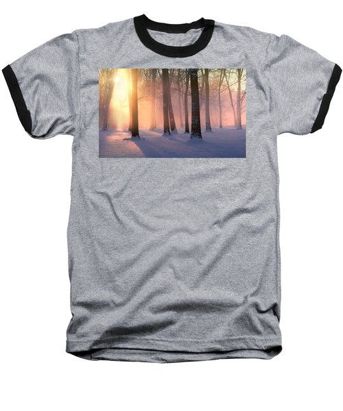 Presence Of Light Baseball T-Shirt