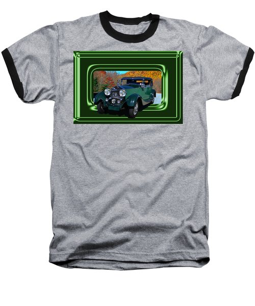Baseball T-Shirt featuring the photograph Pretentious by Larry Bishop