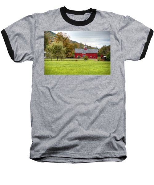 Prettiest Barn In Vermont Baseball T-Shirt