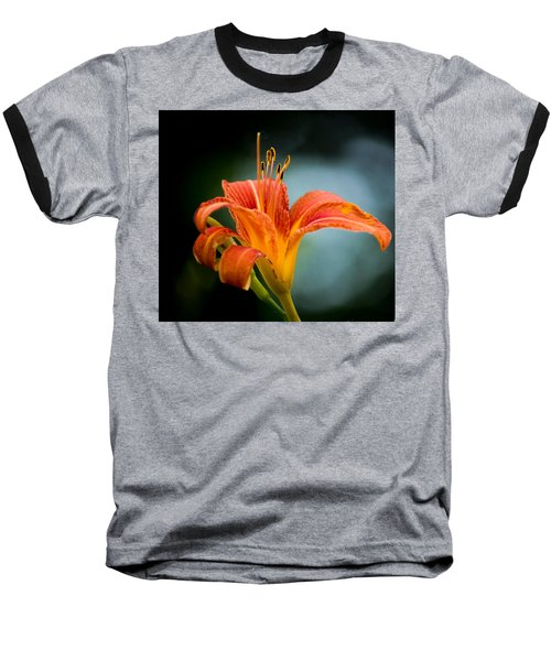 Pretty Flower Baseball T-Shirt