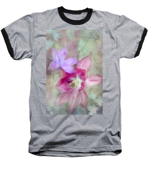 Pretty Flowers Baseball T-Shirt