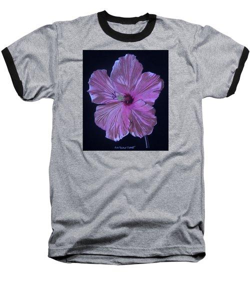 Pretty In Pink Baseball T-Shirt by Anita Putman