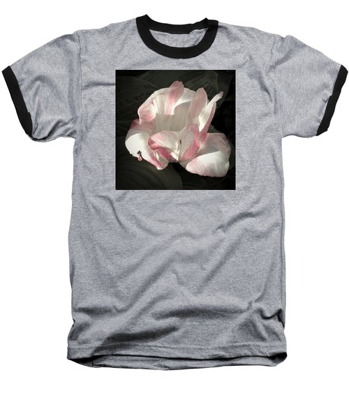 Baseball T-Shirt featuring the photograph Pretty In Pink by Photographic Arts And Design Studio