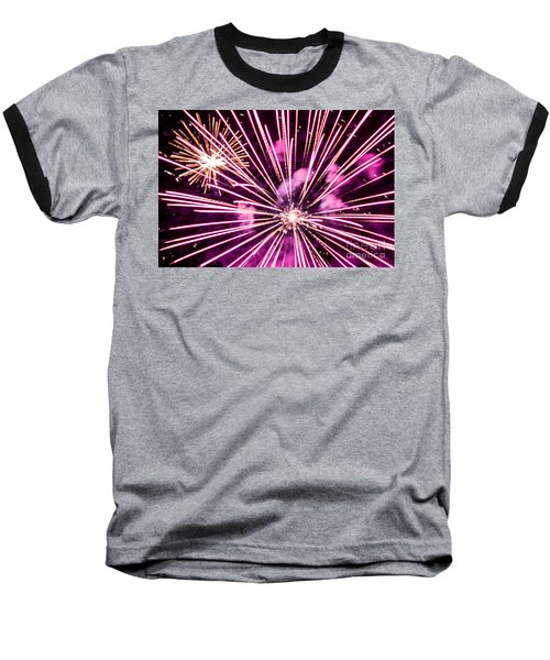 Baseball T-Shirt featuring the photograph Pretty In Pink by Suzanne Luft