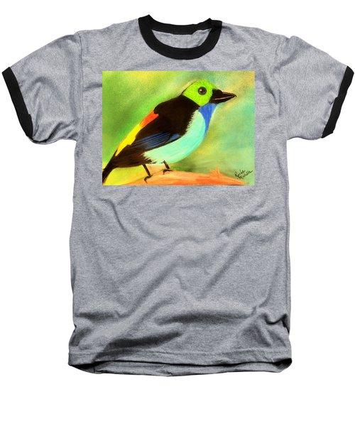 Pretty Paradise Tanager Baseball T-Shirt