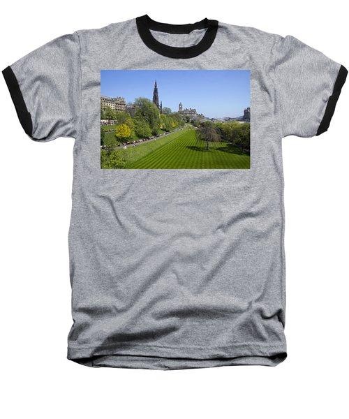 Princes Street Gardens Baseball T-Shirt