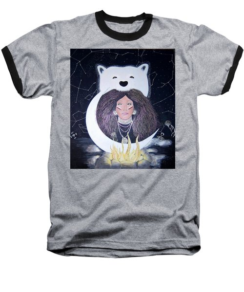 Princess Moon Baseball T-Shirt