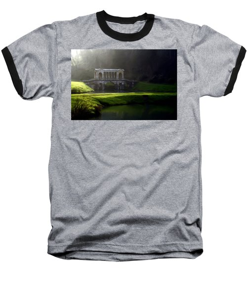 Prior Park Bath Baseball T-Shirt by Ron Harpham