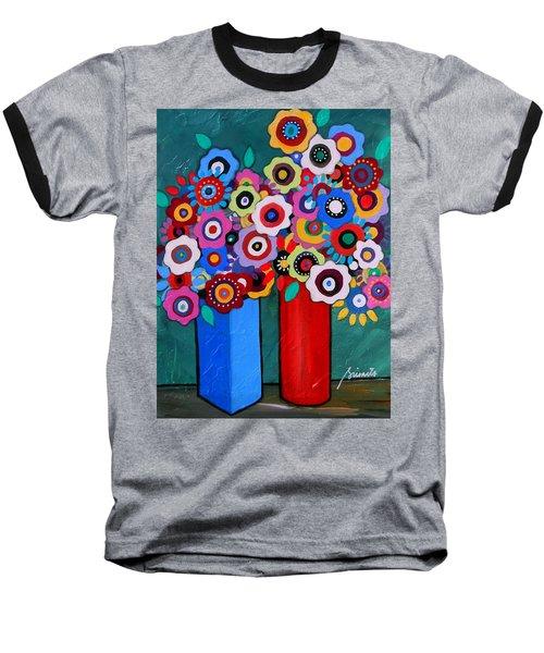 Prisarts Florals II Baseball T-Shirt