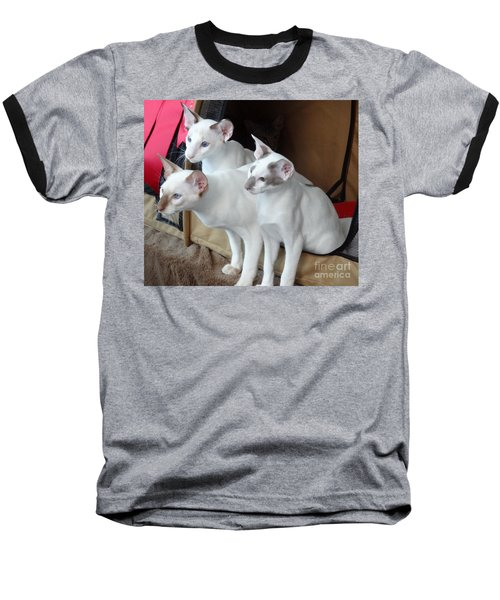 Prize Winning Triplets Baseball T-Shirt