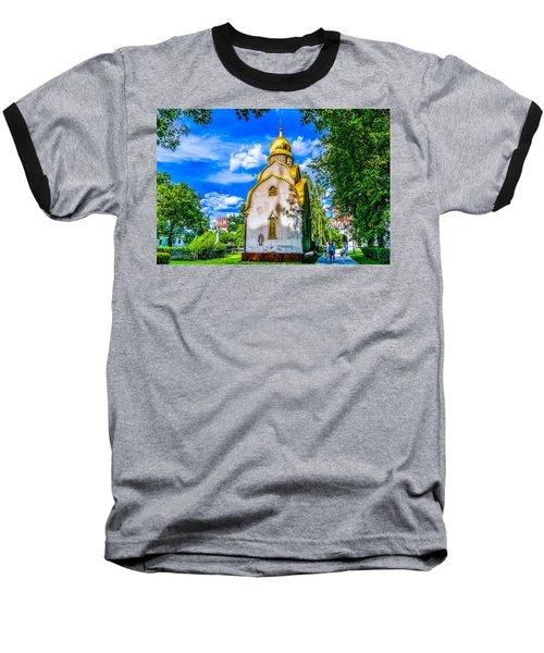 Prokhorov Chapel Baseball T-Shirt