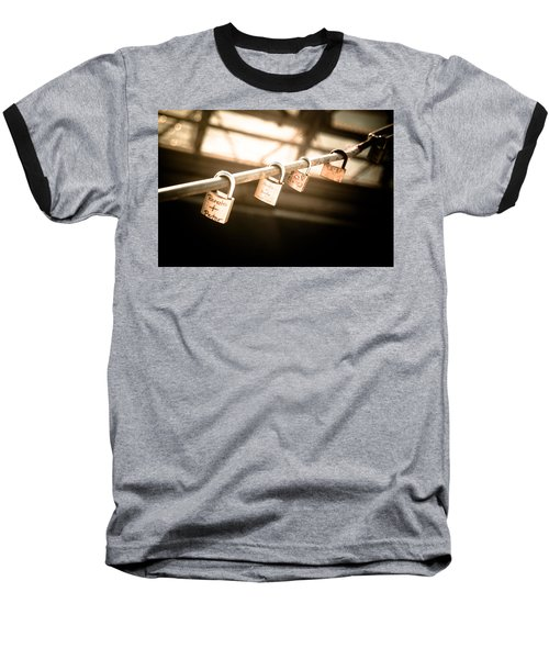 Baseball T-Shirt featuring the photograph Promises We Made by Peta Thames